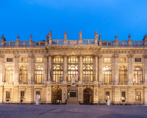 City Museum in Palazzo Madama, Turin, Italy